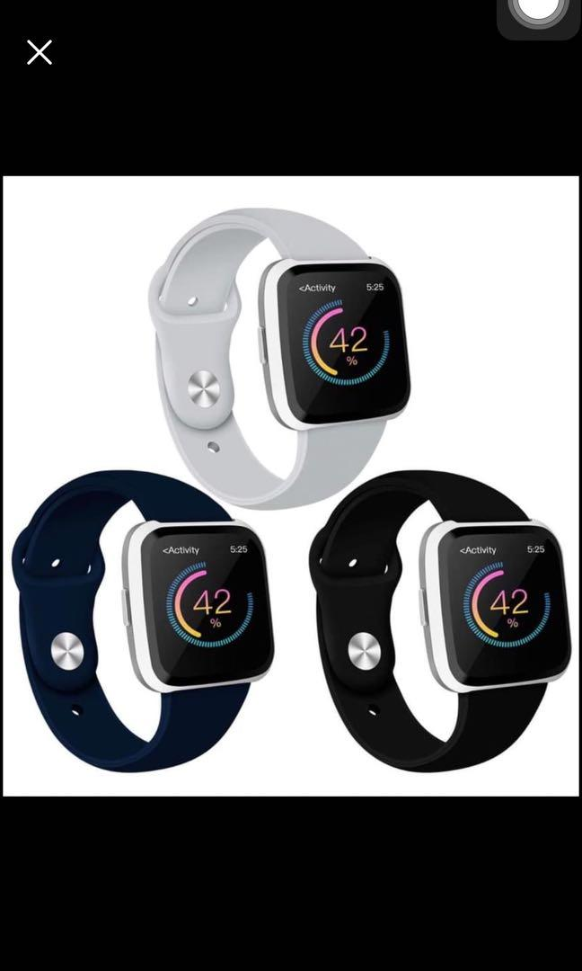 Brand new Compatible with Fitbit Versa Bands 3 pack