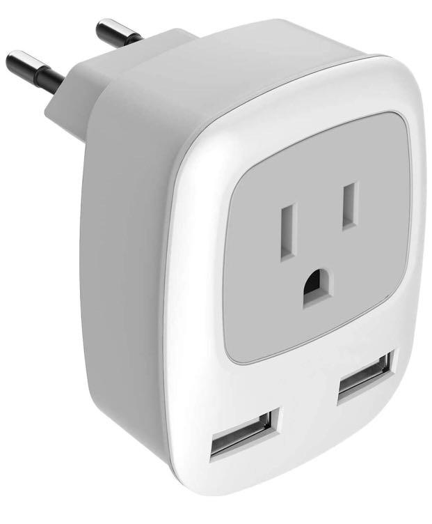 Brand new European Travel Plug Adapter