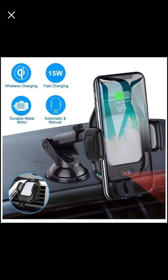 Brand new in box Wireless Car Charger Mount