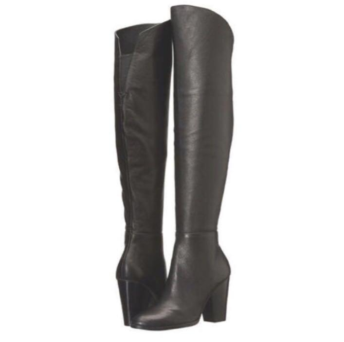 Brand new Steve Madden leather boots
