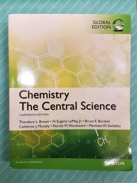 Chemistry The Central Science global13 edition 7成新