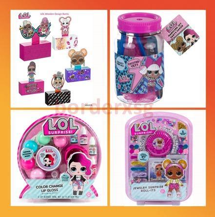 Chk Lol Surprise Party Supplies Party Favors Collection Mason Jar Manicure Set Party Supplies Party