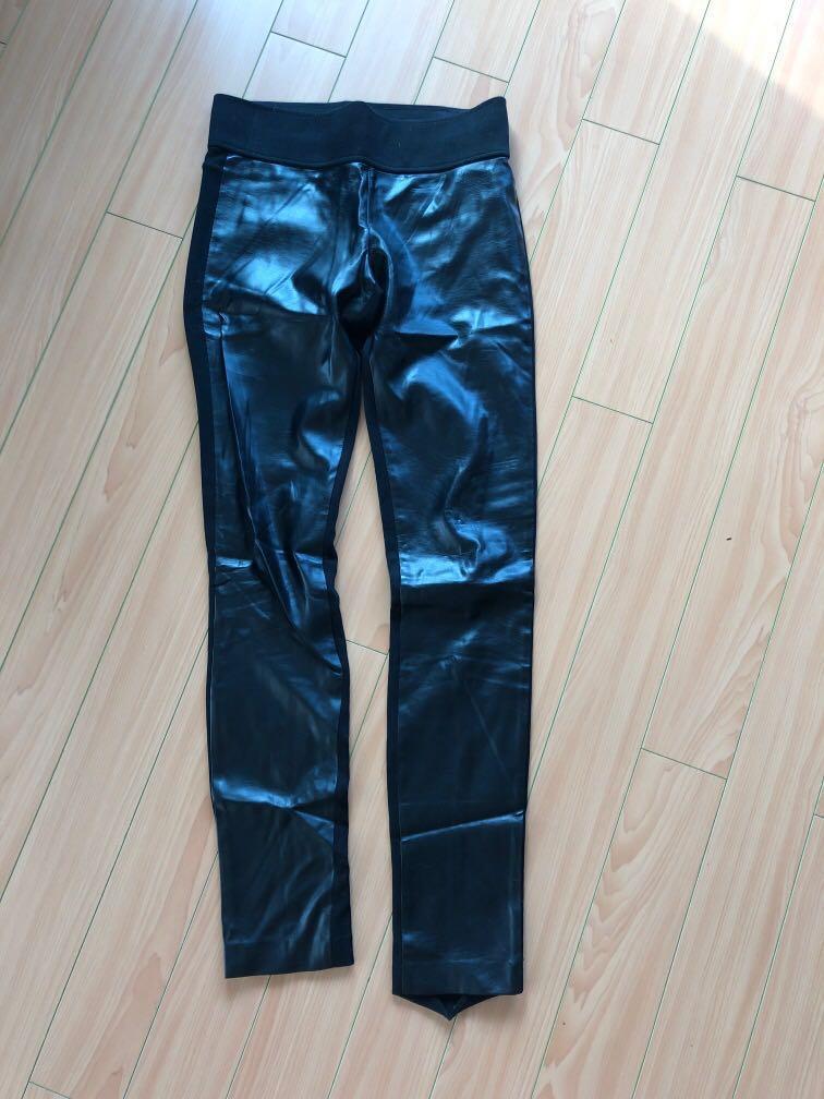 Club Monaco Women's Tasha Leggings, black, size 2