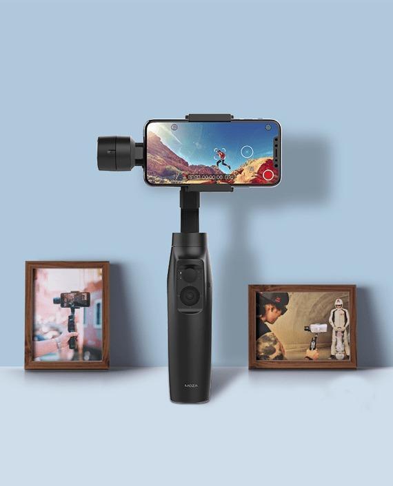 Cuma Bayar 100RB Moza Mini-MI Smartphone Gimbal Stabilizer