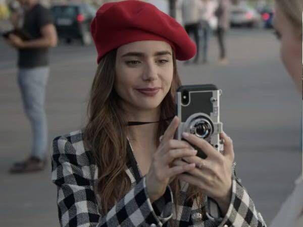 [PRE-ORDER] Emily in Paris Retro Camera iPhone Case!