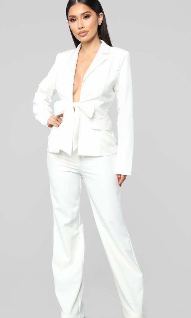 Fashion nova bright idea suit set