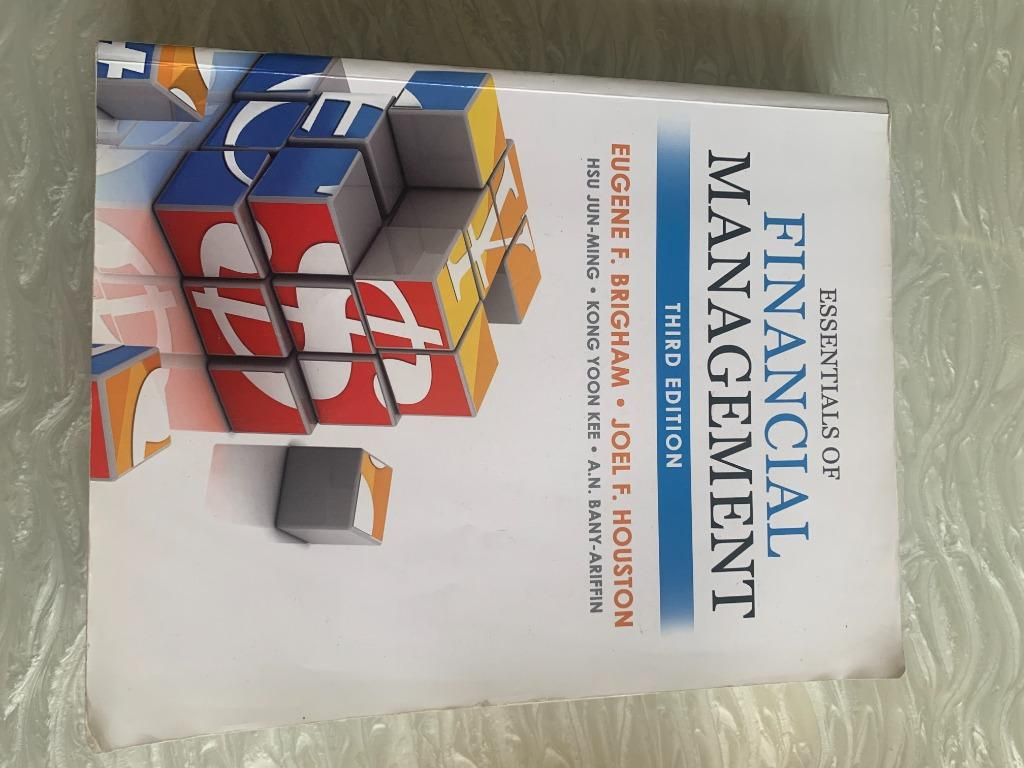 financial management 財務管理 3版 third edition