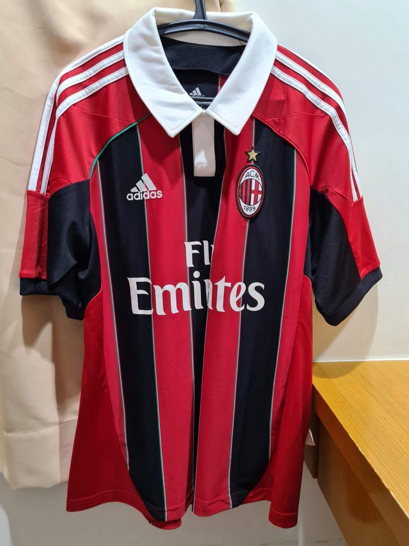 Baju Jersey AC Milan Authentic Preloved size M