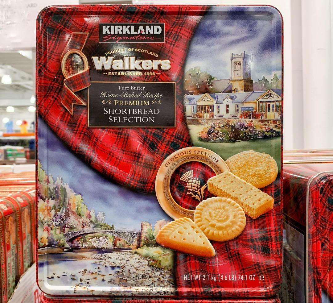 KIRKLAND SIGNATURE科克蘭Walkers奶油脆餅 2.1Kg(請私訊有貨再下單)