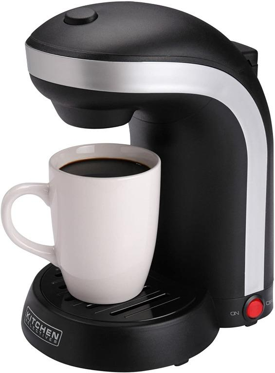 Kitchen Selectives 1-Cup Single Serve Drip Coffee Maker