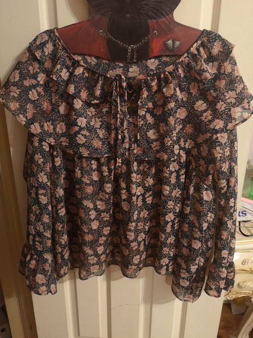 Korean chiffon blouse
