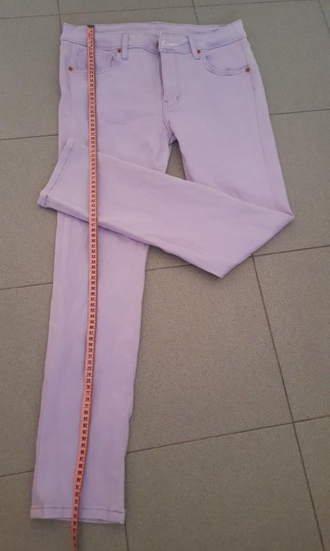 To jeans with light purple what wear How to