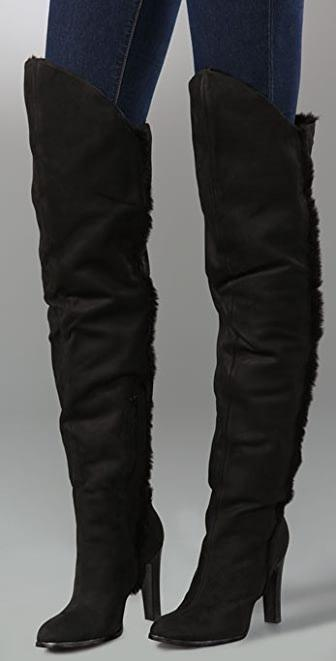 Luxury Rebel Velma Over the Knee Thigh High Boots on Sale!