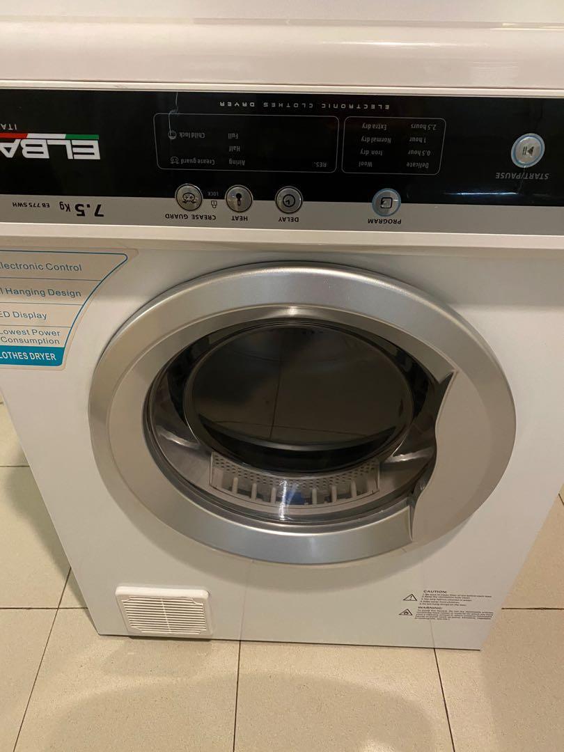 Mesin Pengering Dryer Elba EB 775