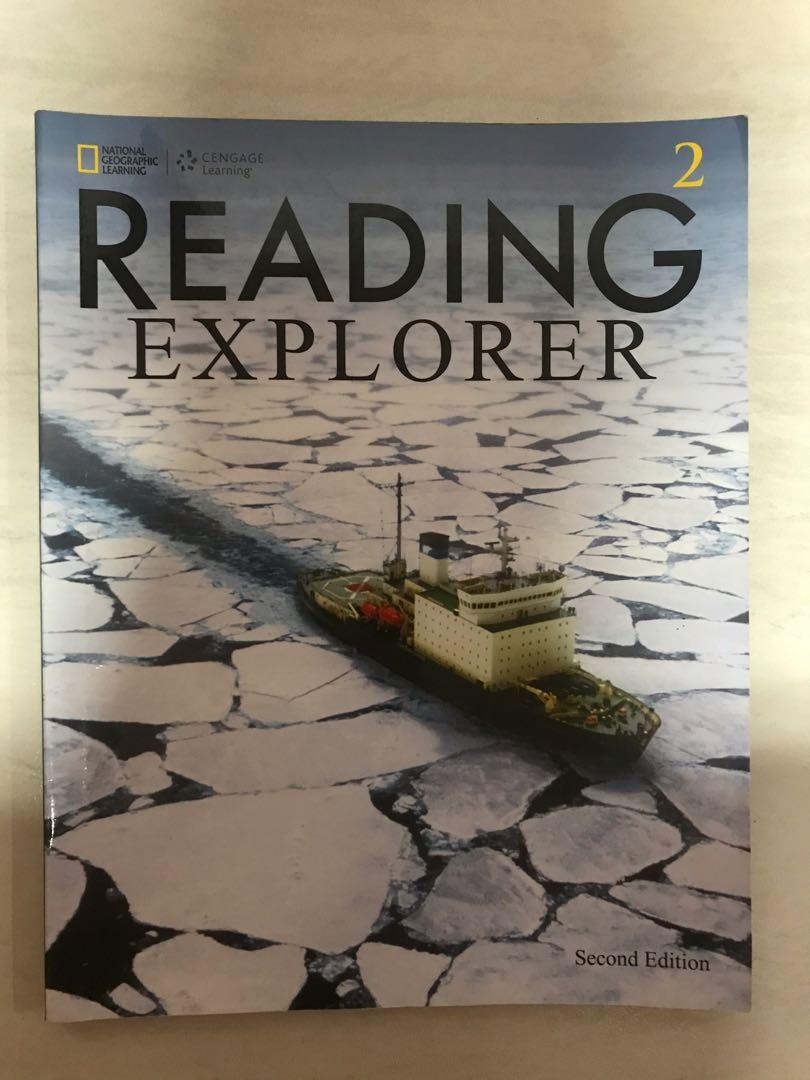 National Geographic Learning Cengage Learning Reading Explorer 2 Second Edition