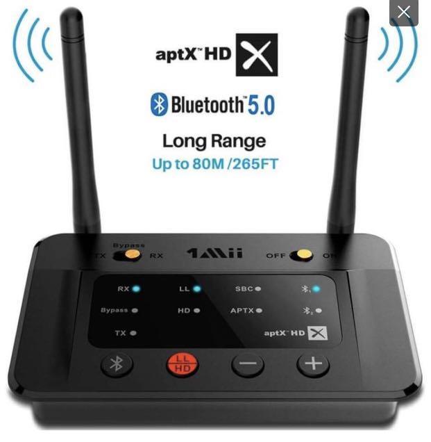 New Long Range Bluetooth 5.0 Transmitter Receiver r