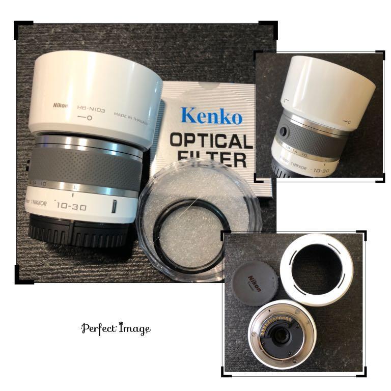 Nikon 10-30mm + UV + 遮光罩 J1 J2 J3 J4 J5 二手