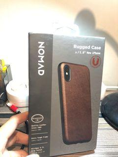 Nomad Leather Case iPhone X/Xs
