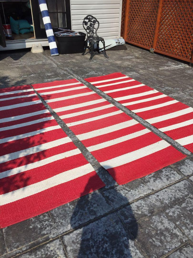Outdoor carpet runners used $10 each
