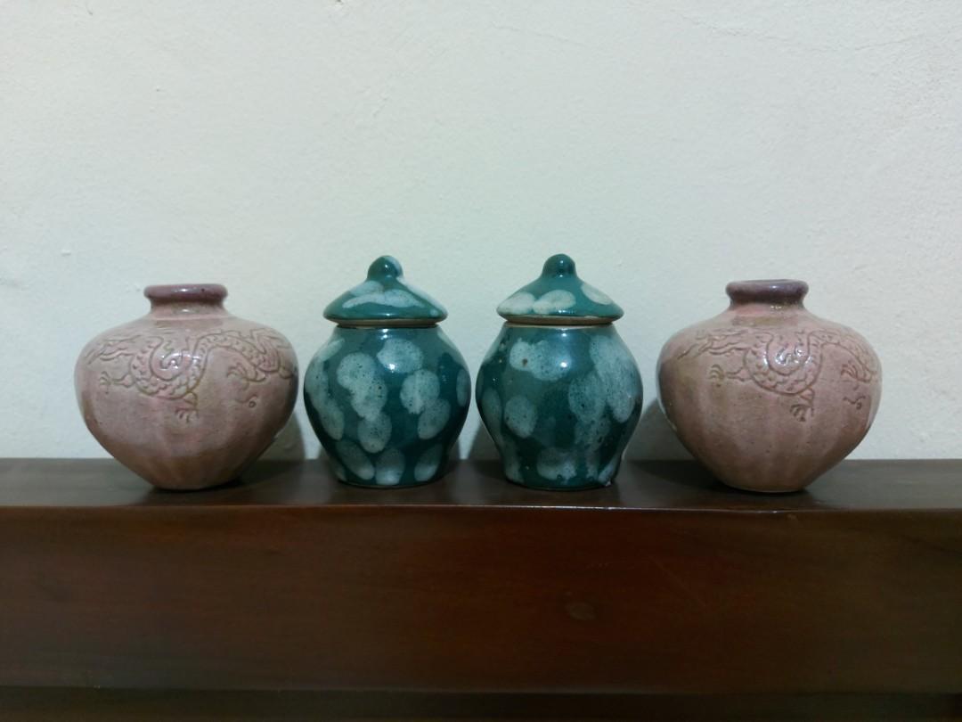 Pajangan Vase/Guci Mini