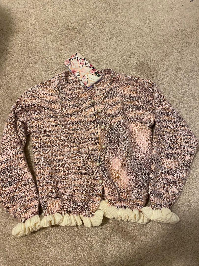 Pink Chanel Sweater / Jacket size S