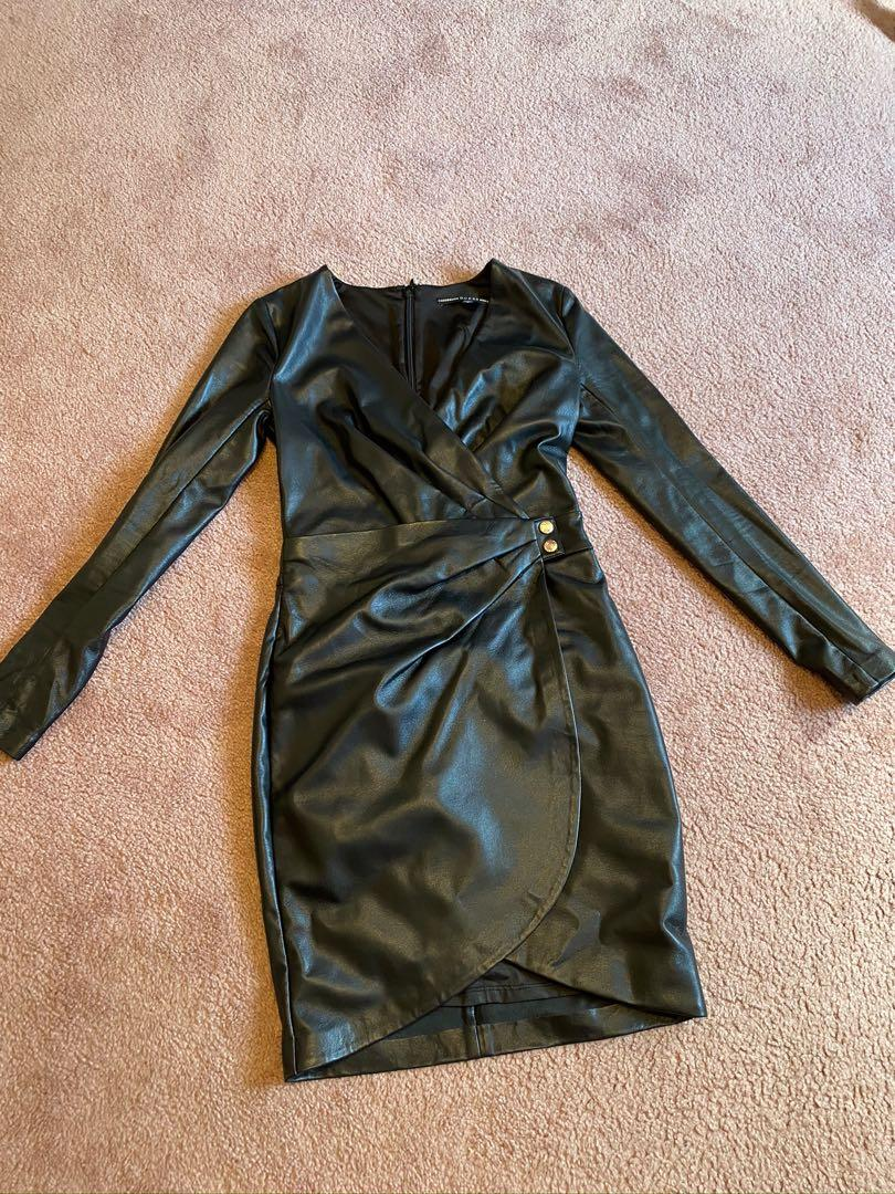Pleather Guess dress