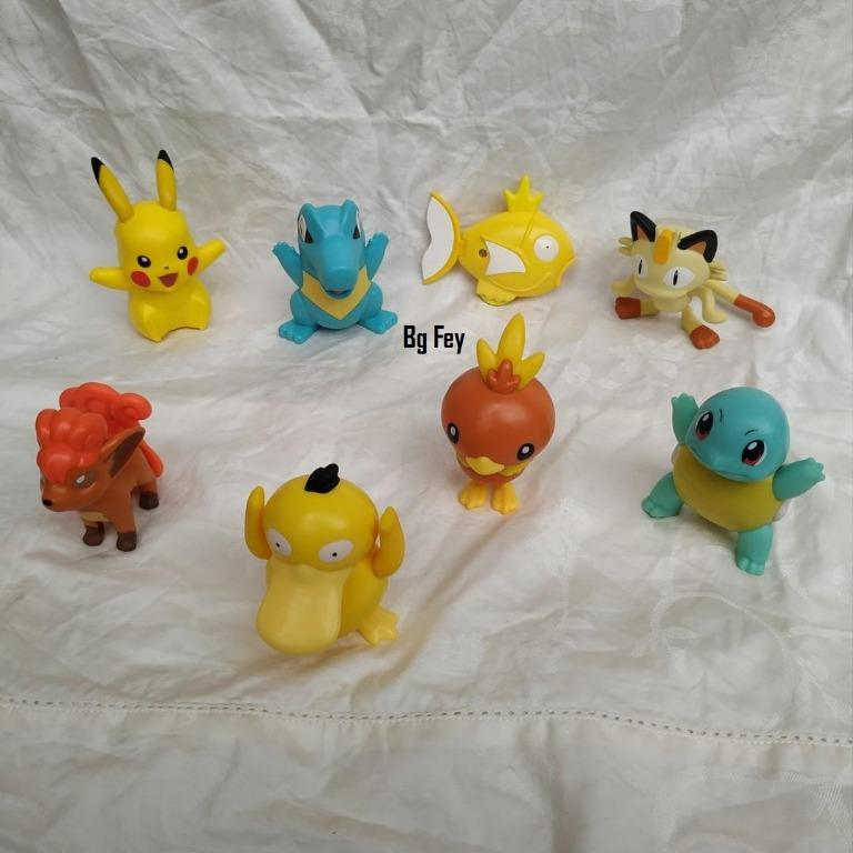 Pokemon Happy Meal Mc Donald 2018 Komplit Set - 8 pcs