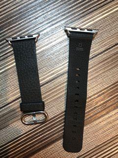 [PRELOVED] Apple Watch Leather Strap 38mm 40mm OEM