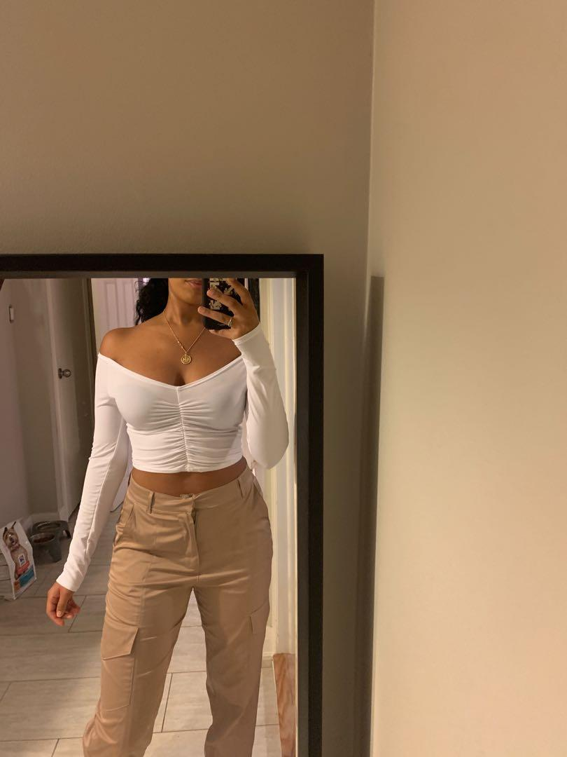 Pretty little thing white top