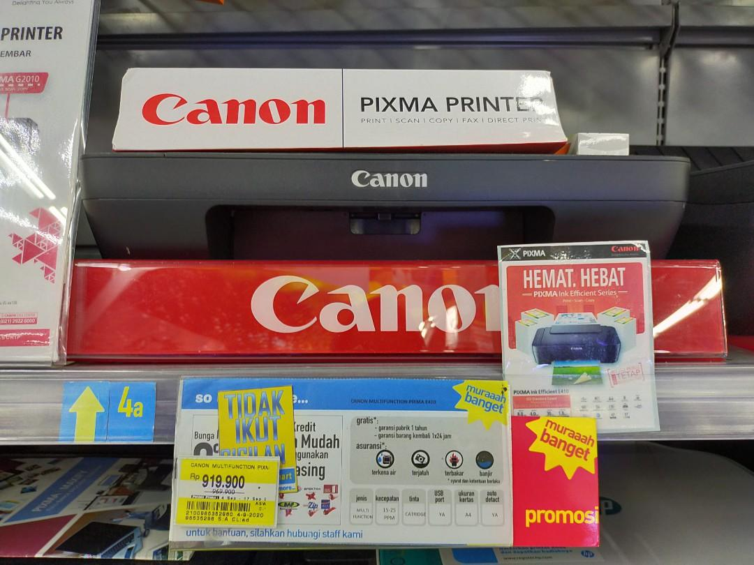 Promo DP 0% Kredit Printer Canon E410
