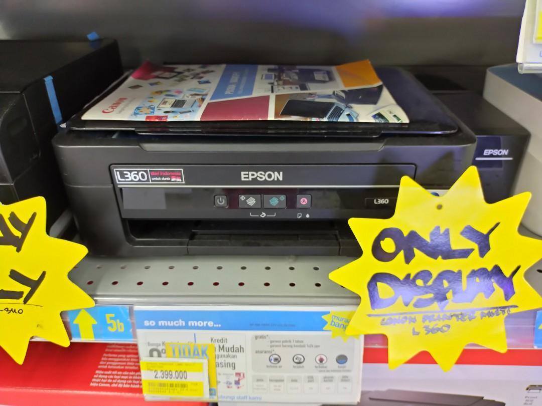 Promo DP 0% Kredit Printer Canon L360