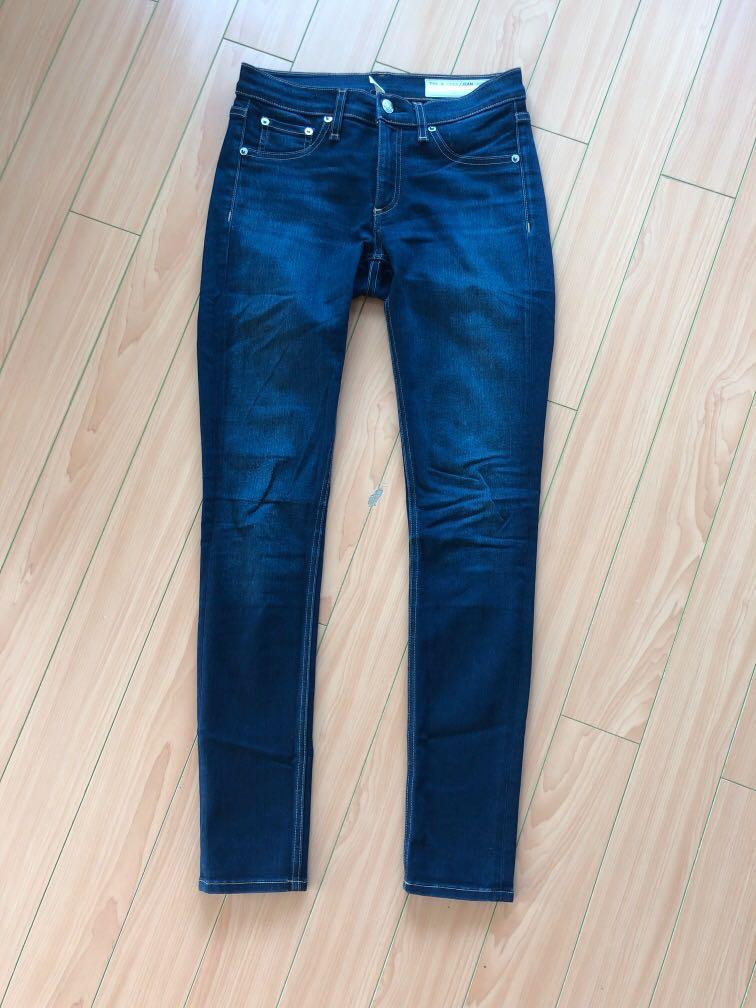 Rag & Bone Jeans Cate Mid-Rise Skinny - Bedford, size 27