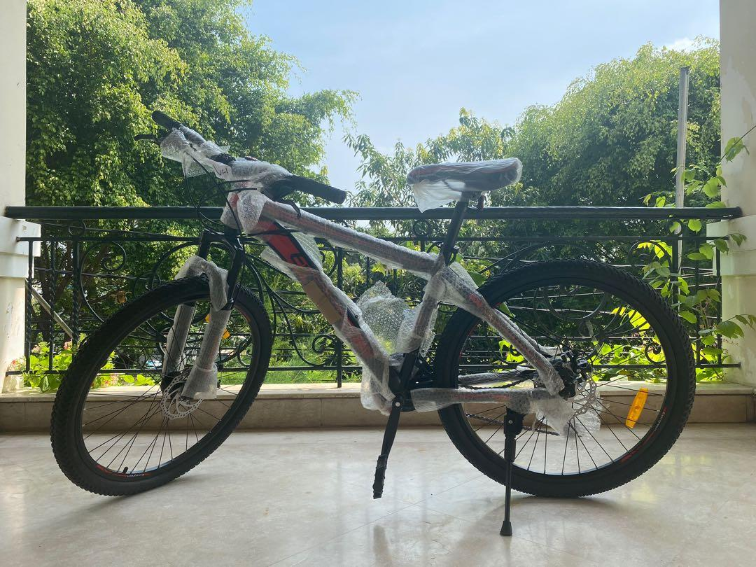 Sepeda Gunung Evergreen MTB 26 merah