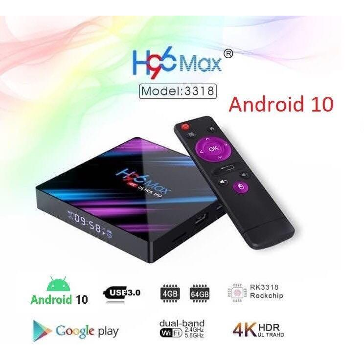 Set Top Box H96 Max
