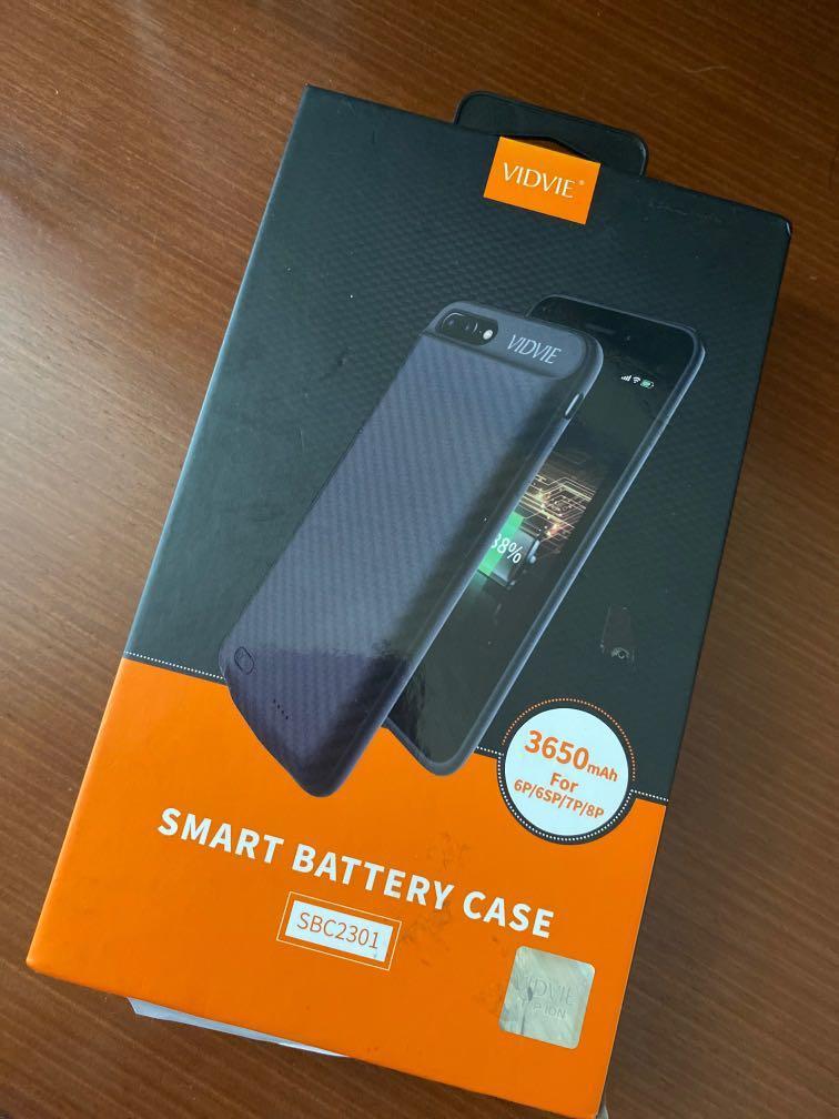 Smart Battery Case 3650 mAh iPhone 6 plus / 7 plus / 8 plus