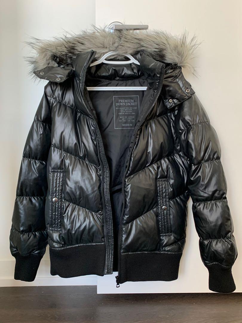 Thick down winter coat women's medium