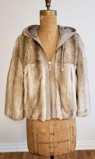 Vintage Juicy Couture Faux Fur Jacket