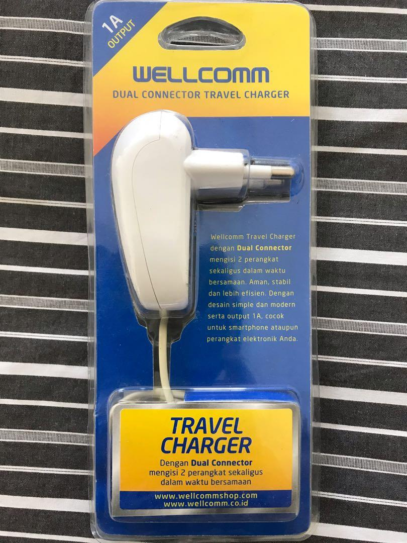 #special1010 Wellcomm travel charger
