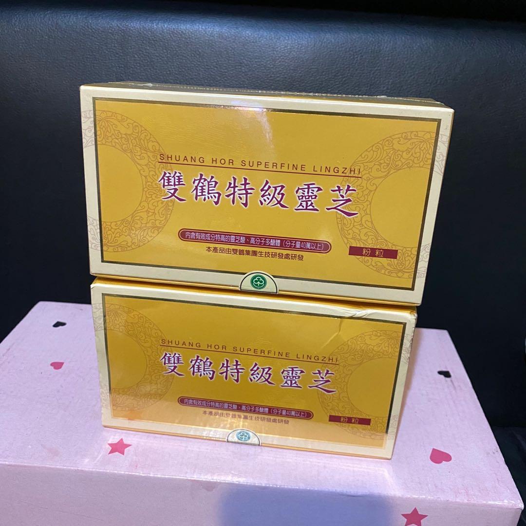 雙鶴靈芝食品x2盒