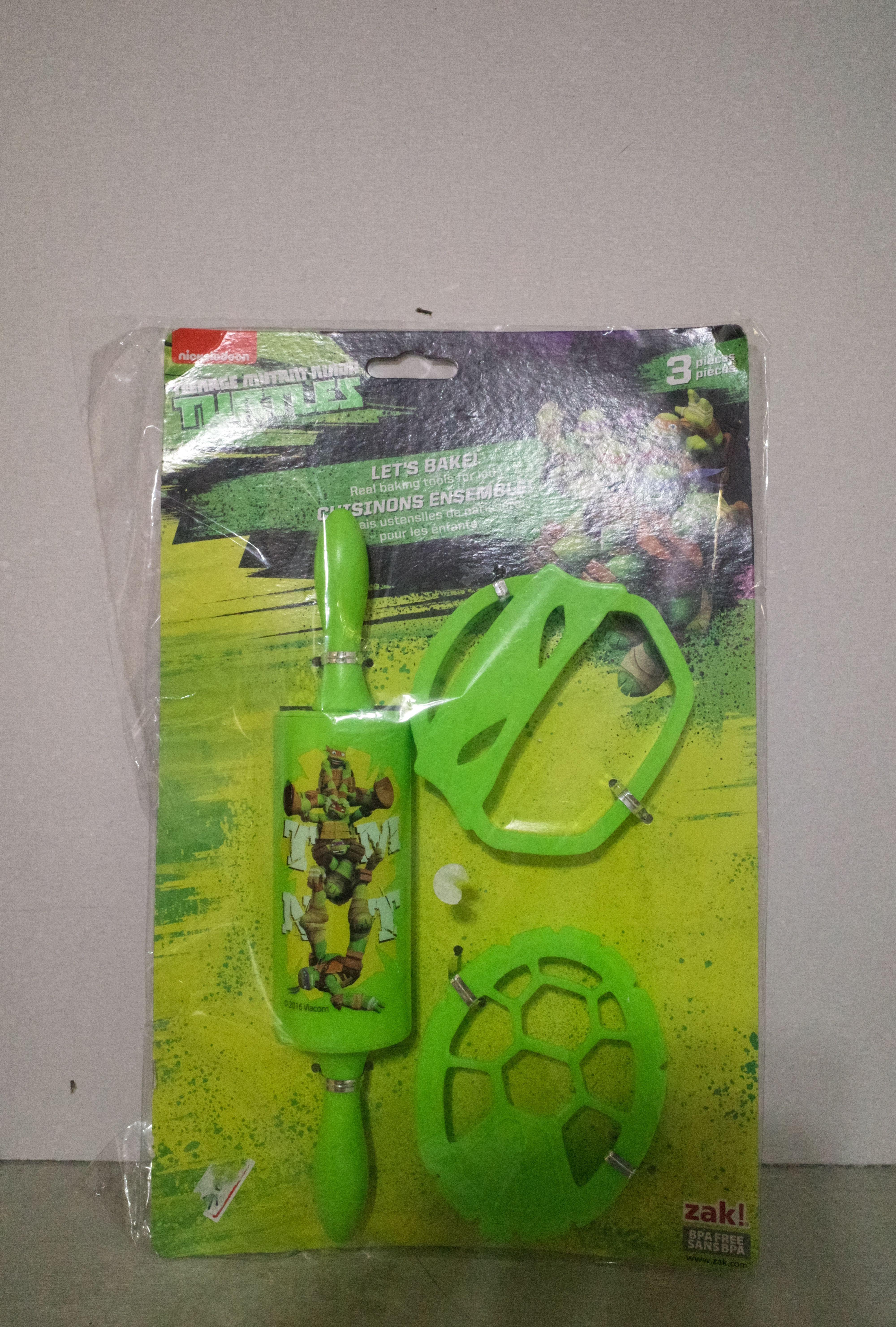 Zak!忍者龜黏土模型道具/玩具