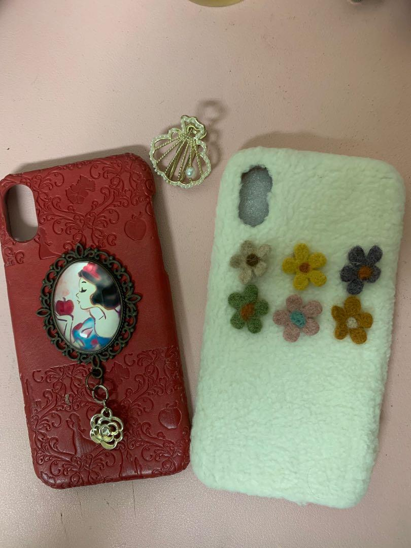 #1010iPhone xs質感手機殼免費贈