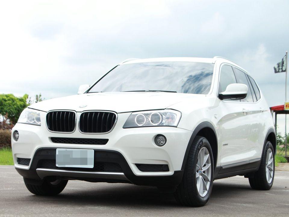 2013 BMW X3 2.0 白