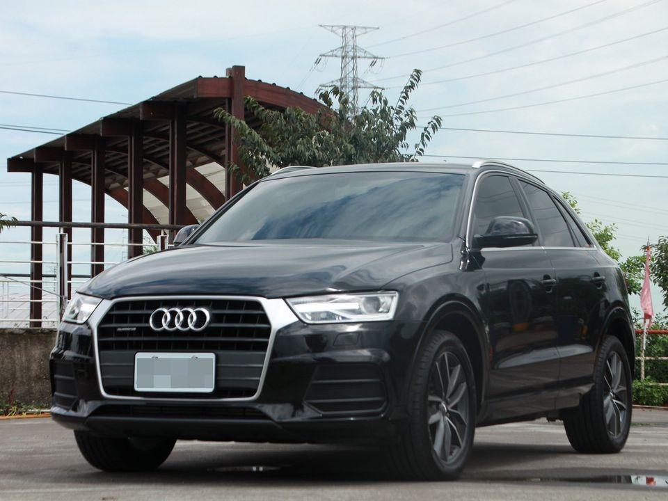 2015 Audi Q3 2.0 黑