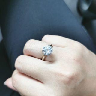 GIA 5卡鑽石戒指 5ct Diamond Ring