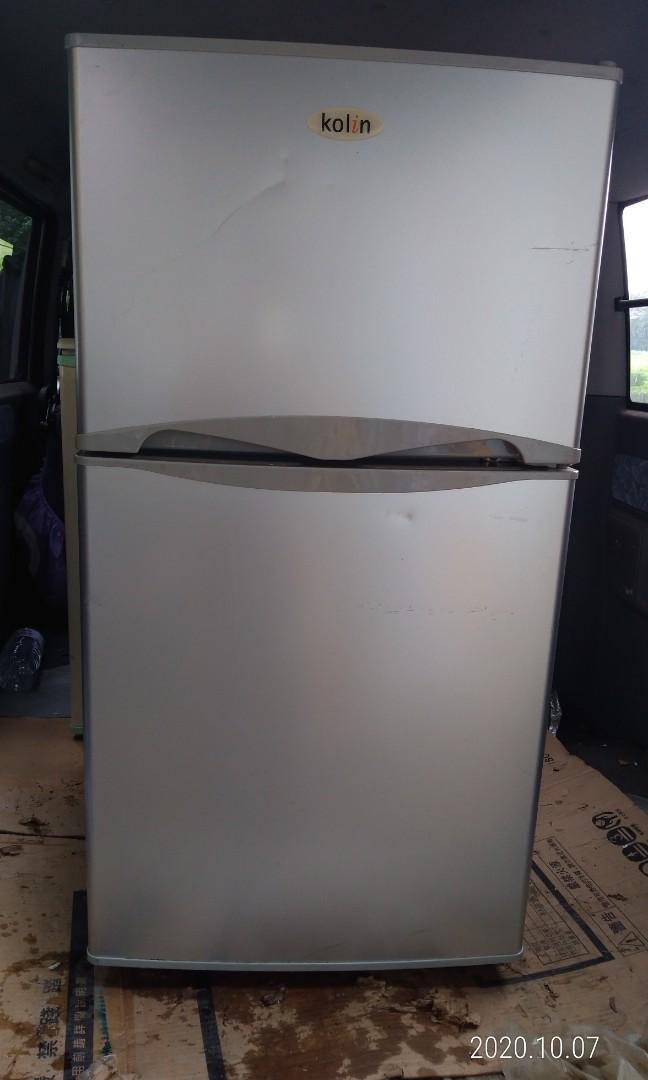 中壢雙門冰箱 130公升 只有使用4年 要自己來搬運 搬運加500 桃園地區