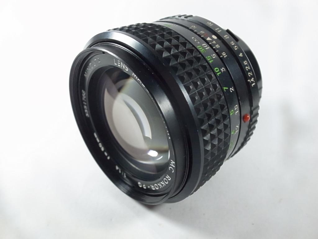 [一直攝] Minolta MC Rokkor-PG 50mm F1.4鏡頭