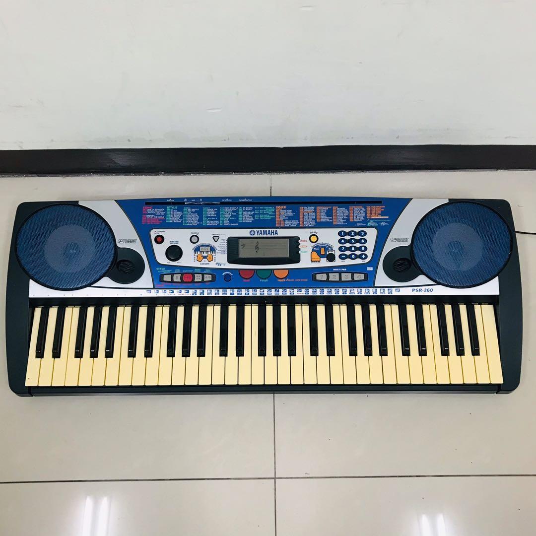 山葉 Yamaha 電子琴 PSR-260