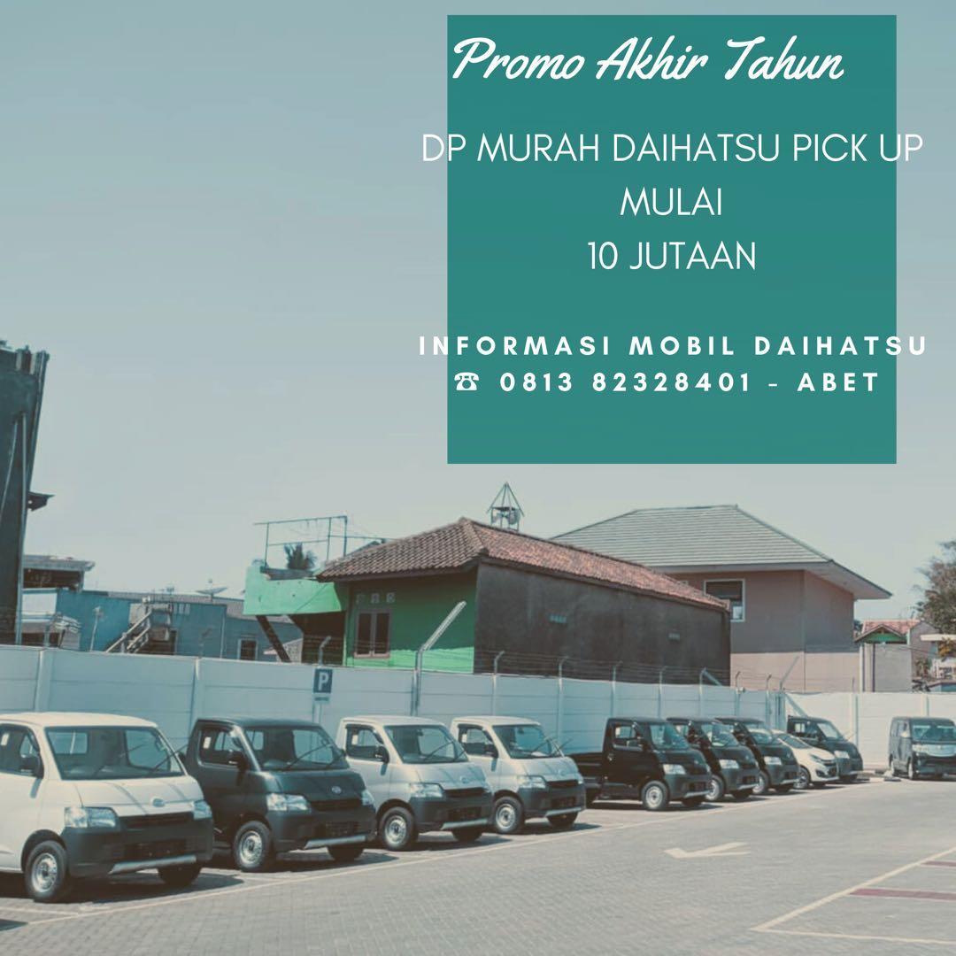 ANGSURAN MURAH Daihatsu Pick Up mulai 3 jutaan. Daihatsu Fatmawati