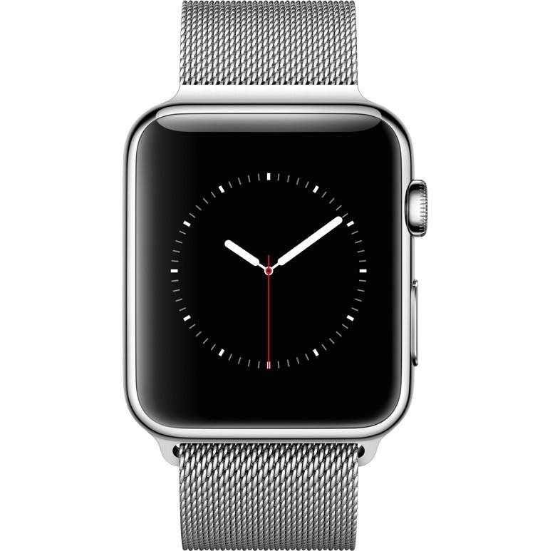極致輕薄Apple watch銀色螢幕保護殼(38mm)