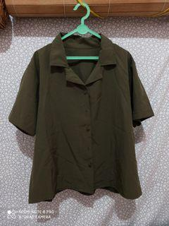 Army plain blouse